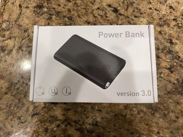 Portable Charger Power Bank 26800mAh, Phone Charger mosila Huge Capacity, Battery Pack with Flashlight, 2 USB Output Ports, Compatible Smart Phone Ta