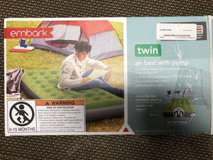 Embark twin air mattress for Sale in Berea, OH