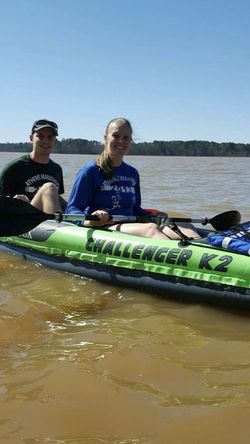 Challenger K2 Inflatable 2 Person Kayak Excellent Condition for Sale in Mercer Island,  WA
