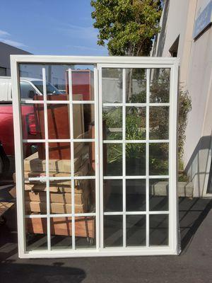57x70 window brand new retro fit double glass with grids / 57x70 ventana nueva de doble vidrio con recorido for Sale in Chula Vista, CA
