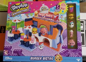 Shopkins Legos Burger Bistro Set for Sale in Gainesville, VA