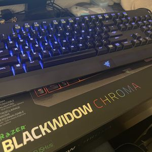 Blackwidow Chroma Mechanical Keyboard w/ FREE mouse for Sale in San Francisco, CA