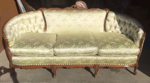 Antique couch and chair for Sale in San Leandro, CA