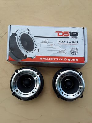 "NEW ! 1"" super bullet tweeters for Sale in York, PA"