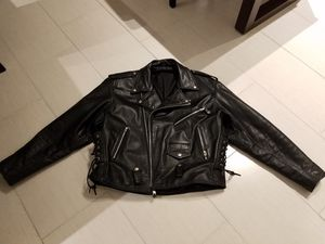 Leather Motorcycle Jacket for Sale in Coral Springs, FL