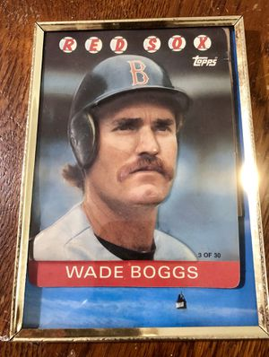 Wade Boggs Topps 3D Baseball Card for Sale in Zanesfield, OH