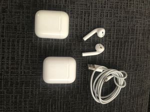 AirPods with 2 charging cases for Sale in Virginia Beach, VA
