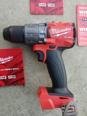 M18 Milwaukee Fuel Brushless Hammer Drill Brand NEW !!!! for Sale in Bakersfield, CA