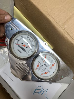 1959 Chevy Apache instrument cluster for Sale in Los Angeles, CA