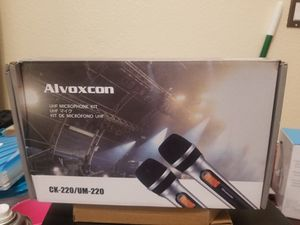 Alvoxcom microfono set for Sale in Los Angeles, CA
