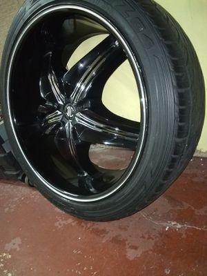 Rims tires for Sale in Fullerton, CA