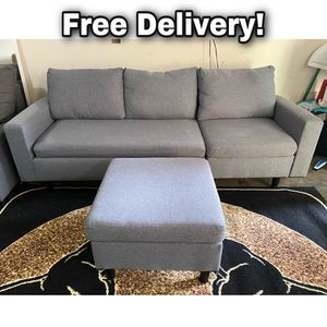 Small Sectional Couch (Free Delivery) for Sale in Happy Valley, OR