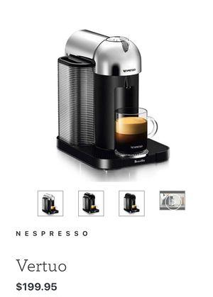 Nespresso Vertuo Chrome for Sale in Covina, CA