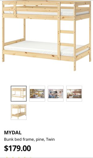 IKEA bunk bed with mattresses if you want them. for Sale in Austin, TX