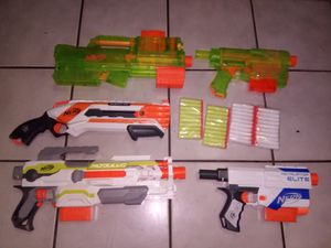 Nerf Random Lot 5 Guns for Sale in Miami, FL