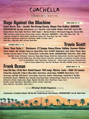 (2) Coachella wknd TWO for Sale in Anaheim, CA