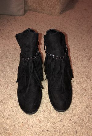 Women's Black Suede Ankle Booties for Sale in Land O Lakes, FL