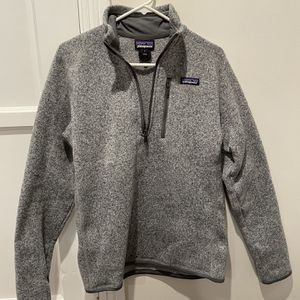 Patagonia Better Sweater Quarter-Zip Fleece Pullover - Men's Small for Sale in Los Angeles, CA