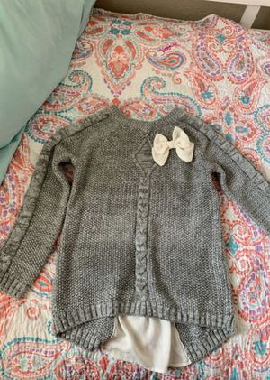 Girls sweater size 6 for Sale in Antioch, CA