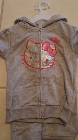 Hello Kitty girls sweat suit for Sale in Dallas, TX