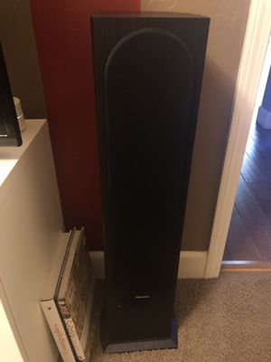 Pioneer Surround System, Pioneer Receiver, with BIC Subwoofer for Sale in Visalia, CA