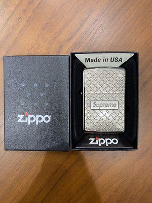 Supreme Diamond Plate Zippo for Sale in Mesa, AZ