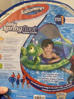 Swimways Baby Toddler Kid Pool Swing Float for Sale in Moreno Valley,  CA
