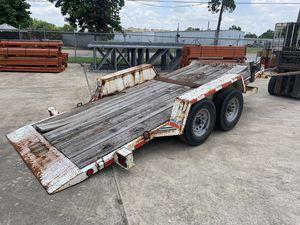 16' Car Hauler tilt bed trailer for Sale in Houston, TX