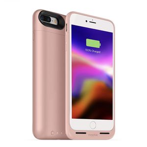 mophie Juice Pack Wireless - Charge Force Wireless Power - Wireless Charging Protective Battery Pack Case For iPhone 8 – Rose Gold for Sale in Garden City, NY