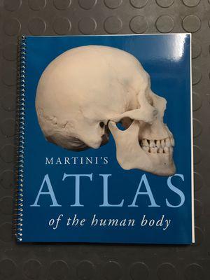 Martini's Atlas of the human body for Sale in Arlington, WA