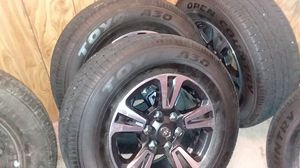 Toyo a30 opencountry.17inch tires for Sale in Olympia, WA