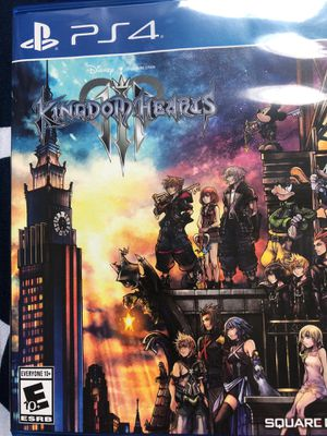 Kingdom Hearts 3 PS4 for Sale in Portland, OR