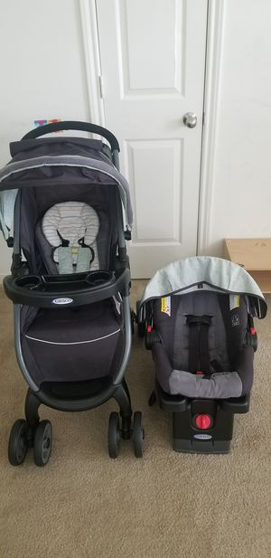 Graco foldable stroller and car seat for Sale in New Albany, OH