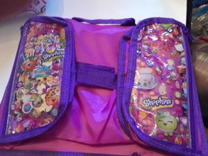 Shopkins activity lap tray with 2 zipper pockets for Sale in Ocoee, FL