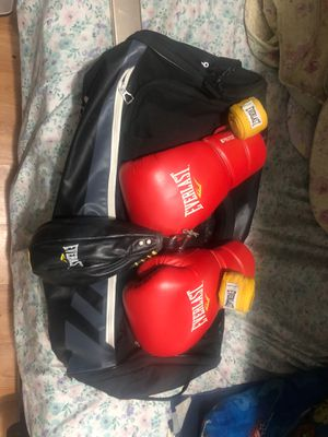 """{BRAND NEW PAIR OF """"{EVERLAST """"PROTEX 2"""" BOXING 🥊 GLOVES} for Sale in The Bronx, NY"""