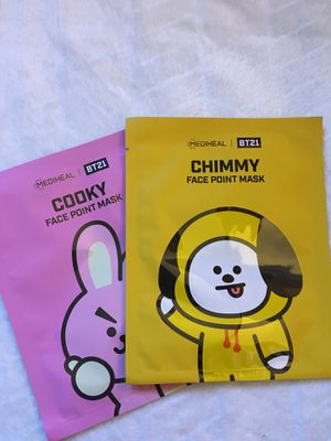 🖇BT21 face point mask for Sale in Perris, CA