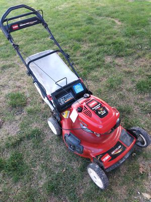 Toro Personal Pace self propelled lawn mower with bag $125 for Sale in Brunswick, OH