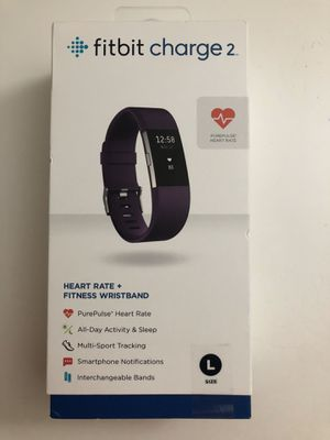 Fitbit charge 2 fitness tracker for Sale in South Brunswick Township, NJ