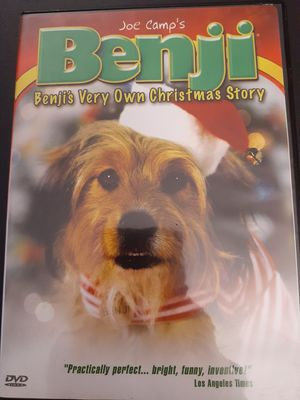 Joe Camp's BENJI: Benji's Very Own Christmas Story (DVD) for Sale in Lewisville, TX