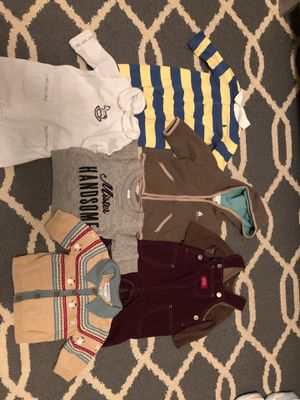 baby boy clothes fall/winter 3-6 months for Sale in Murfreesboro, TN