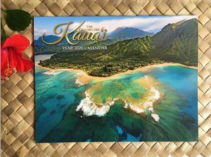 KAUAI ISLAND HAWAII 2020 Wall Calendar Hawaiian Tropical Beach Ocean for Sale in Kailua-Kona, HI