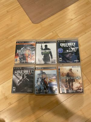 Ps3 Video Games (Call of Duty, Battlefield) for Sale in Hacienda Heights, CA