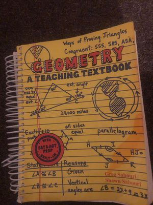 Geometry a teaching textbook for Sale in San Francisco, CA