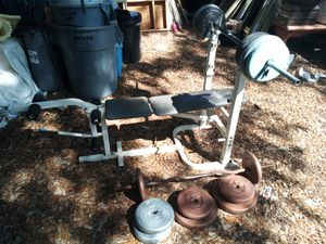 Weight bench for Sale in Kissimmee, FL