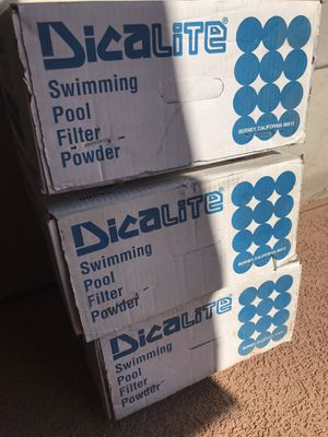 Pool Filter Powder for Sale in Fresno, CA