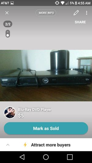 Blu Ray DVD Player for Sale in Lakewood, CO