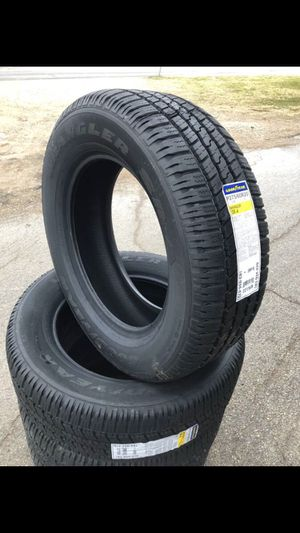 "New Goodyear 20"" Tire 275/55r20 Good year Wrangler All Terrain 275/55/20 Llantas Nuevas 275 / 55 r20 r 20 n 20"" Tire for Sale in Dallas, TX"