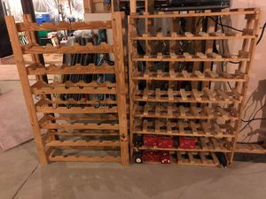 2 wooden wine racks for Sale in Clarksburg, MD