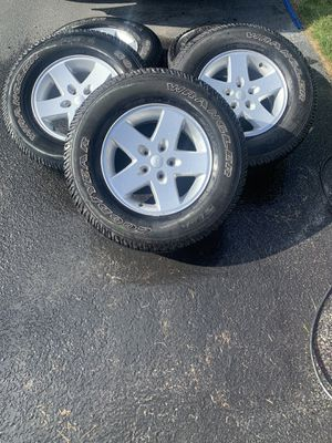Jeep tires and rims for Sale in Toms River, NJ