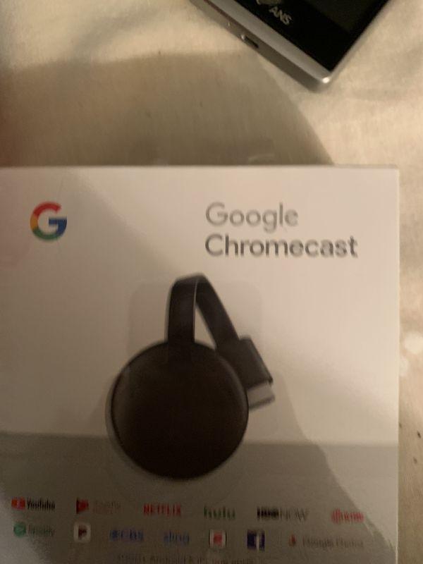 Google chromecast in box